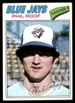 1977 Topps #392  Phil Roof  Front Thumbnail