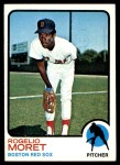 1973 Topps #291  Rogelio Moret  Front Thumbnail