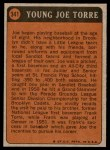 1972 Topps #341   -  Joe Torre Boyhood Photo Back Thumbnail