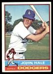1976 Topps #228  John Hale  Front Thumbnail