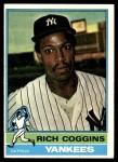 1976 Topps #572  Rich Coggins  Front Thumbnail