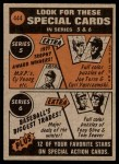 1972 Topps #444   -  Ken Henderson In Action Back Thumbnail