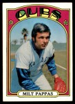 1972 Topps #208  Milt Pappas  Front Thumbnail