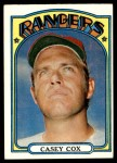 1972 Topps #231  Casey Cox  Front Thumbnail