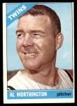 1966 Topps #181  Al Worthington  Front Thumbnail