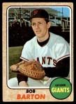 1968 Topps #351  Bob Barton  Front Thumbnail