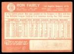 1964 Topps #490  Ron Fairly  Back Thumbnail