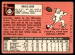 1969 Topps #317  Bruce Look  Back Thumbnail