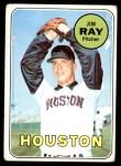 1969 Topps #257  Jim Ray  Front Thumbnail