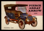 1954 Topps World on Wheels #24   Pierce Great Arrow 1905 Front Thumbnail