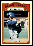 1972 Topps #46   -  Glenn Beckert In Action Front Thumbnail
