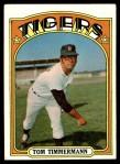 1972 Topps #239  Tom Timmermann  Front Thumbnail
