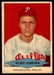 1954 Red Heart  Richie Ashburn  Front Thumbnail