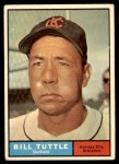 1961 Topps #536  Bill Tuttle  Front Thumbnail