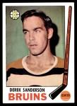 1969 Topps #31  Derek Sanderson  Front Thumbnail