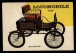 1954 Topps World on Wheels #52   Locomobile Stanhope 1899 Front Thumbnail