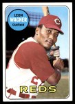 1969 Topps #187  Leon Wagner  Front Thumbnail