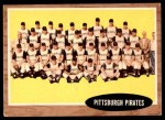 1962 Topps #409   Pirates Team Front Thumbnail