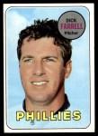 1969 Topps #531  Dick Farrell  Front Thumbnail