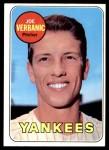 1969 Topps #541  Joe Verbanic  Front Thumbnail
