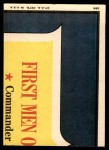 1969 Topps Man on the Moon #29 A  Capsule Exit Back Thumbnail