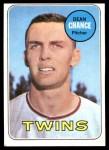 1969 Topps #620  Dean Chance  Front Thumbnail