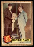 1962 Topps #136 GRN  -  Babe Ruth Babe Joins Yanks Front Thumbnail