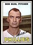 1967 Topps #68  Bob Buhl  Front Thumbnail