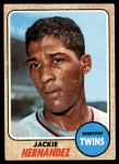 1968 Topps #352  Jackie Hernandez  Front Thumbnail