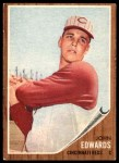 1962 Topps #302  Johnny Edwards  Front Thumbnail