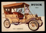 1954 Topps World on Wheels #4   Buick Toy Tonneau 1910 Front Thumbnail