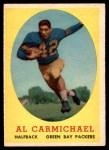1958 Topps #31  Al Carmichael  Front Thumbnail