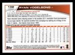 2013 Topps #132  Ryan Vogelsong   Back Thumbnail