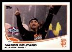 2013 Topps #69  Marco Scutaro   Front Thumbnail