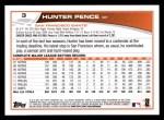2013 Topps #3  Hunter Pence   Back Thumbnail