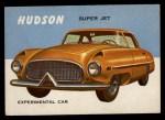 1954 Topps World on Wheels #119   Hudson Super Jet Front Thumbnail