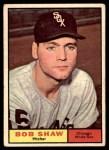 1961 Topps #352  Bob Shaw  Front Thumbnail