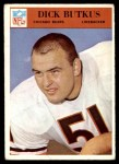 1966 Philadelphia #31  Dick Butkus  Front Thumbnail