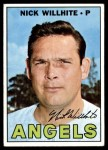 1967 Topps #249  Nick Willhite  Front Thumbnail