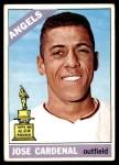 1966 Topps #505  Jose Cardenal  Front Thumbnail