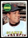 1969 Topps #370  Juan Marichal  Front Thumbnail