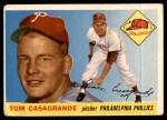 1955 Topps #167  Tom Casagrande  Front Thumbnail