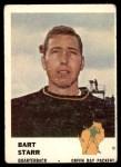 1961 Fleer #88  Bart Starr  Front Thumbnail