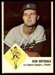 1963 Fleer #41  Don Drysdale  Front Thumbnail