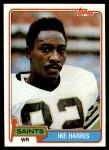 1981 Topps #91  Ike Harris  Front Thumbnail