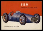 1954 Topps World on Wheels #39   BRM Front Thumbnail