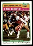 1981 Topps #331   -  Earl Cooper Record Breaker Front Thumbnail