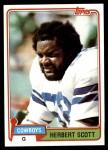 1981 Topps #204  Herb Scott  Front Thumbnail
