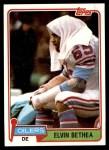 1981 Topps #272  Elvin Bethea  Front Thumbnail