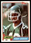 1981 Topps #363  Bobby Jackson  Front Thumbnail